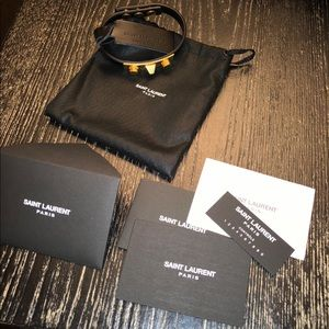 Brand New Saint Laurent Studded Bracelet